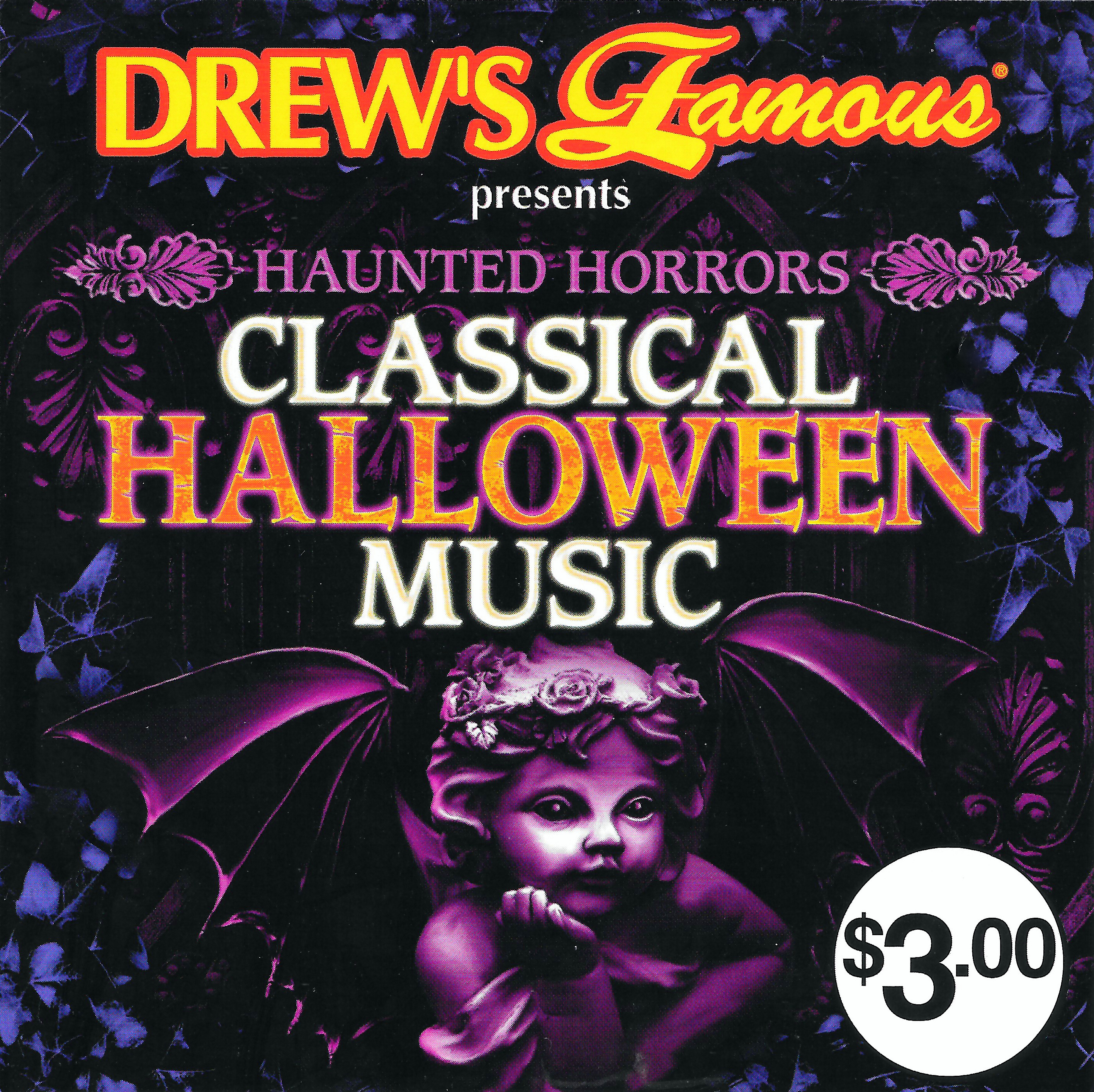 drew's famous presents haunted horrors: classical halloween music